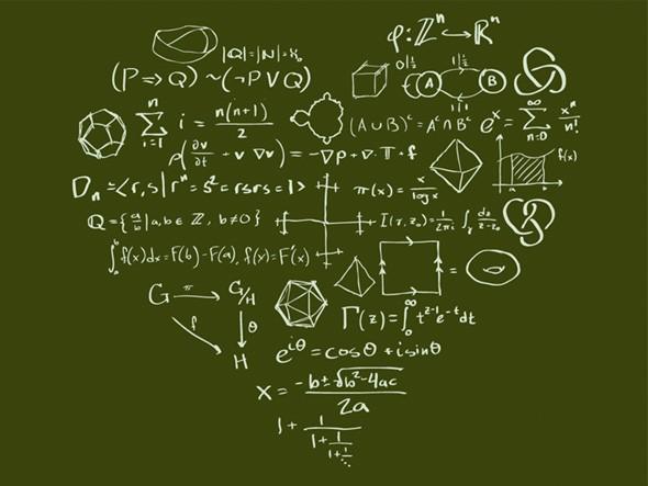 Existe uma fórmula matemática para o amor