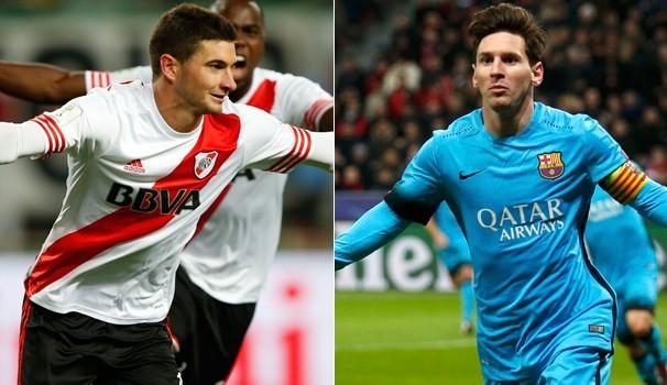 River Plate e Barcelona se enfrentam neste domingo, dia 20 (Foto: Reprodução GE)