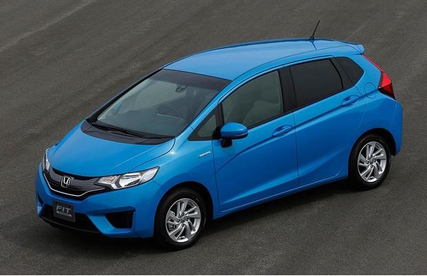 Honda Fit Hybrid 2014 (Foto: Honda)