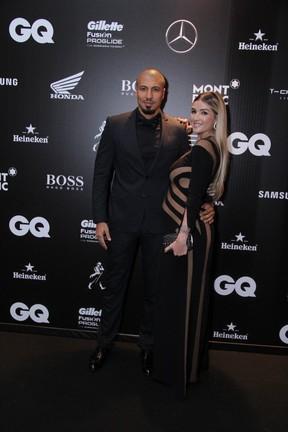 Aline e Fernando  (Foto: Thyago Andrade / Foto Rio News)