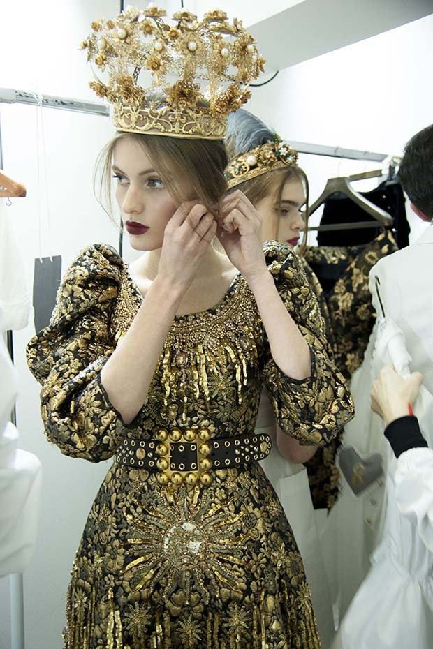 Costume drama - couture looks inspired by opera (Foto: DOLCE & GABBANA)