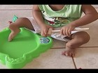 Em Uberaba, mãe faz campanha para filho fazer cirurgia nas pernas