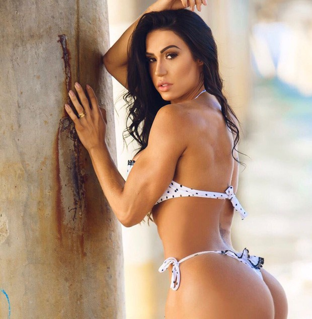 Gracyanne Barbosa (Foto: Lee LHGFX)