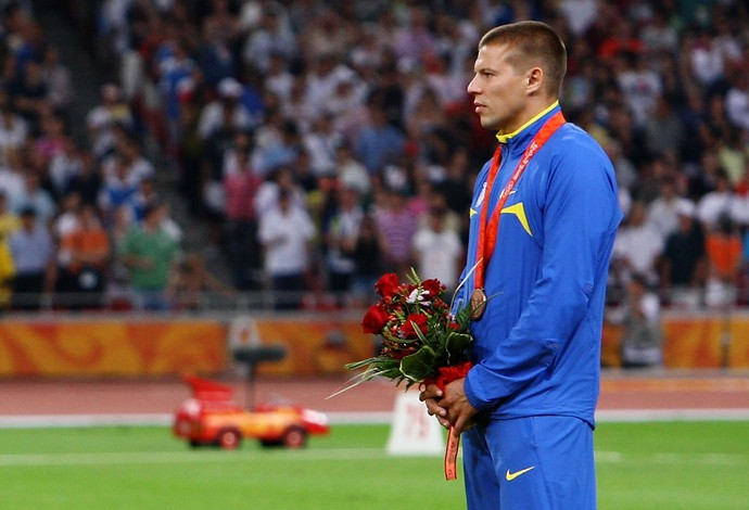 atletismo pequim 2008 Denys Yurchenko (Foto: Getty Images)