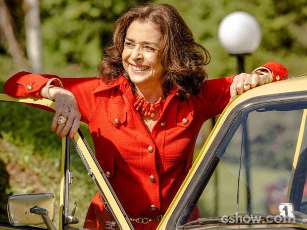 Betty Faria dará vida a animada matriarca Madalena (Foto: Fábio Rocha/TV Globo)