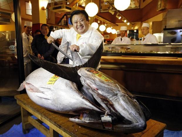 Atum mais valioso (Foto: REUTERS)