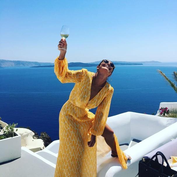 #santorini (Foto: Reprodução/ Instagram)