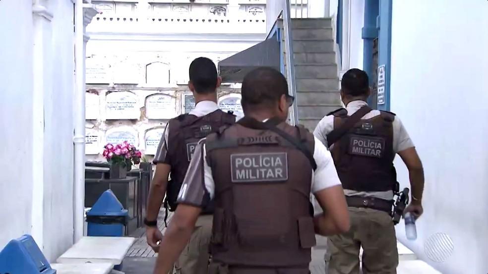 Policiais militares são maioria das vítimas, segundo dados da SSP-BA (Foto: Reprodução/TV Bahia)
