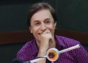 Tom Cavalcanti é surpreendido com o 'Visitando o Passado' (Foto: TV Globo)