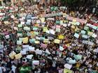 Cerca de 15 cidades na Bahia tiveram protestos pacíficos nesta quinta-feira