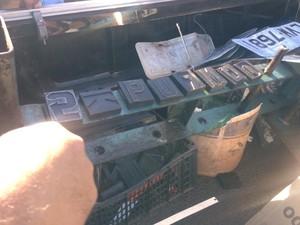 Instrumentos utilizados para clonar placas de veículos (Foto: Divulgação/Polícia Civil)