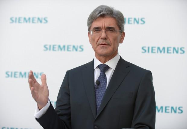 O CEO da Siemens, Joe Kaeser (Foto: Divulgação/Siemens)