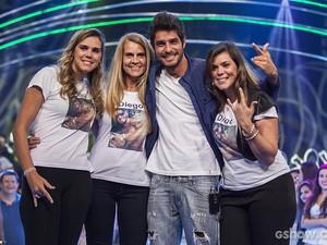 Diego Eliminação Palco (Foto: Fabiano Battaglin / TV Globo)