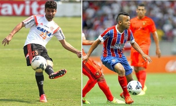Bahia e Flamengo se enfrentam no Brasileirão (Foto: Divulgação / TV Sergipe)