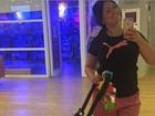 Suzana Alves posa com o filho: 'Tiazinha virou mamãezinha'