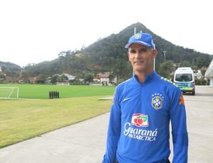 Carlos Amadeu, técnico da Seleção sub-17