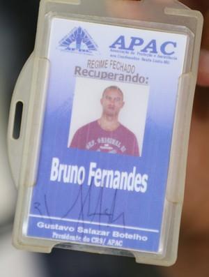 Goleiro Bruno em Santa Luzia (Foto: Bernardo Pombo e Luiz Cláudio Amaral)