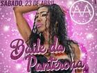 Com show performático, Inês Brasil se apresenta em Volta Redonda, RJ