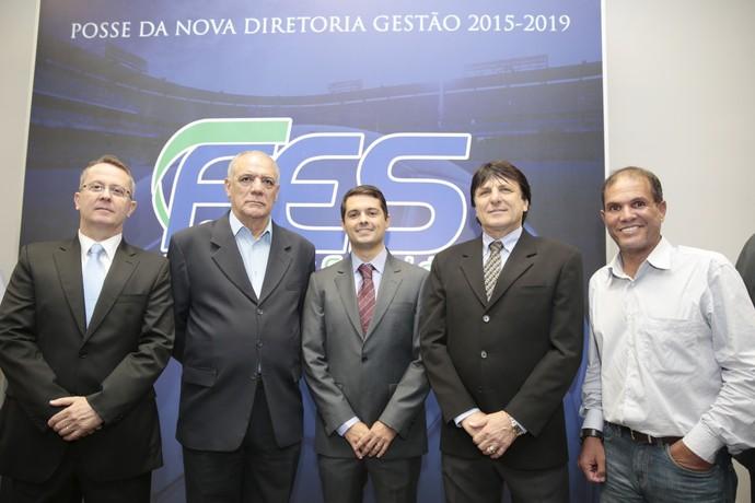 Nova diretoria da FES (Foto: Jussara Martins/FES)