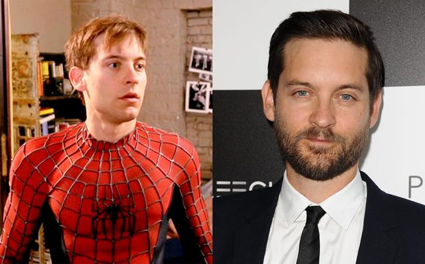 Antes e Depois - Homem-Aranha