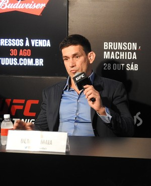 Demian Maia Media Day UFC São Paulo (Foto: Alexandre Fernandes)