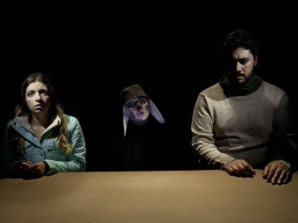 No elenco,  Juliana Galdino, Renato Forner e Paula Spinelli (Foto: Divulgação)