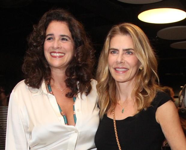 Lúcia Veríssimo e Maitê Proença (Foto: Wallace Barbosa/AgNews)