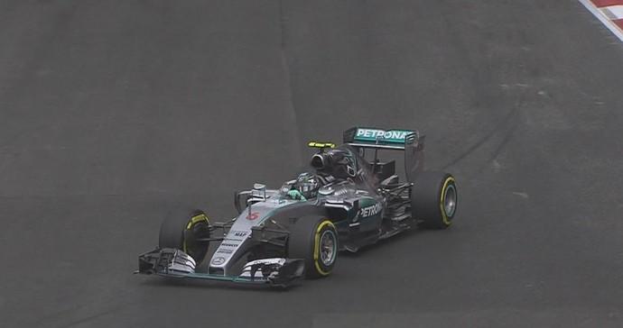 De olho no vice-campeonato, Nico Rosberg ditou o ritmo no Autódromo Hermanos Rodríguez (Foto: Divulgação)