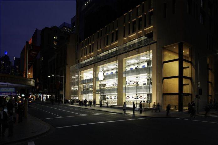 A Apple Store que está em Sydney, na Austrália (Foto: Divulgação/Apple)