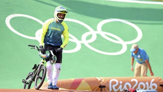ciclismo bmx; brasil; olimpíadas; renato rezende (Foto: Eric Gaillard/Reuters)