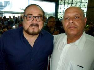 Rubens Edwald Filho e Zé Paraibuna (Foto: Arquivo Pessoal/Zé Paraibuna)