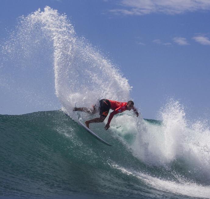Wiggolly Dantas Trestles surfe round 2 (Foto: Reprodução/WSL)