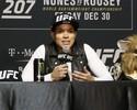 """Amanda Nunes: """"Não sei como Ronda Rousey chegou tão longe na divisão"""""""