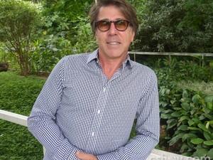 Jairo de Sender está ansioso para mostrar o resultado da cozinha  (Foto: Mais Você/TV Globo)