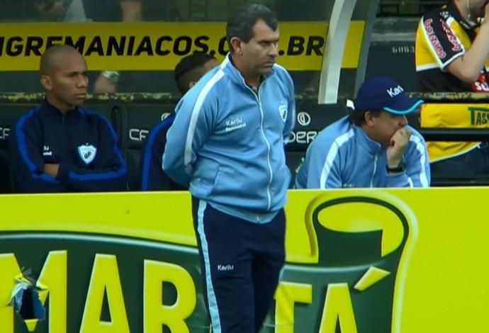 Claudio Tencati Londrina (Foto: Reprodução/Sportv)