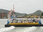 Obra suspende travessia de caminhões na balsa do litoral norte