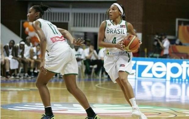 basquete Damiris Adrianinha Copa américa (Foto: Fiba)