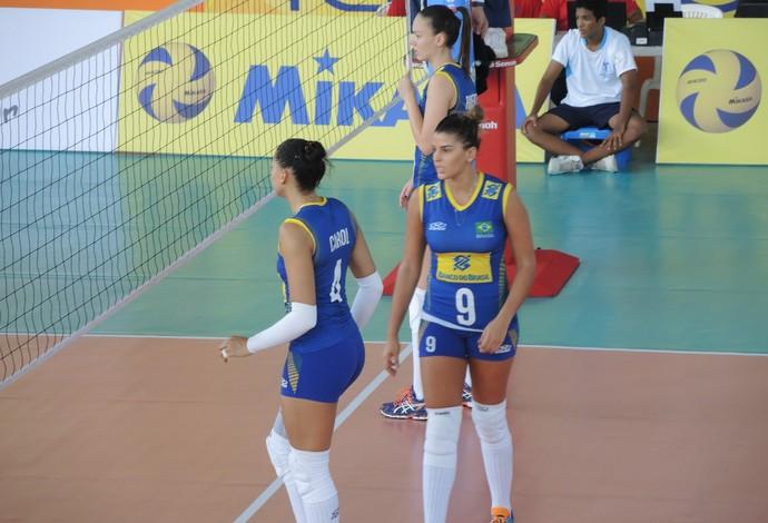 Roberta Carol Mari Paraíba vôlei Brasil Sul-Americano (Foto: Fabio Leme)