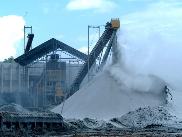 Extrativo mineral apresentou maior crescimento no PIB industrial do Tocantins (Foto: Márcio Di Pietro/ATN)