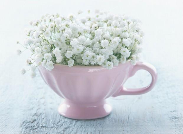 vaso flor enfeite festa decoração (Foto: thinktock)