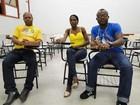 Haitianos se preparam para o Enem em busca de nova profissão em BH