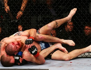 Pat Healy x Jim Miller UFC 159 (Foto: Getty Images)