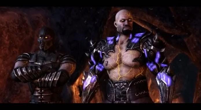 Mortal Kombat X ganha trailer de lançamento com Chop Sueya (Foto: Reprodução/Felipe Vinha)