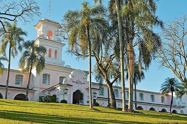 O luxuoso Belmond  Hotel das Cataratas, único  hotel localizado dentro do  Parque Nacional do Iguaçu,  próximo a Foz do Iguaçu,   oeste do Paraná  (Foto:  )