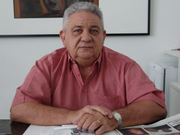 O presidente da TV Clube, Segisnando Alencar, conta como foi o processo de afiliação. (Foto: Jaqueliny Siqueira/G1)