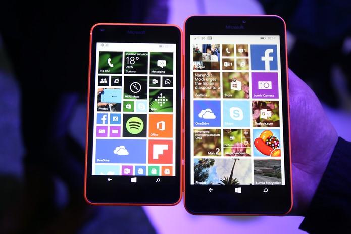 Lumia 640 - sem marca (Foto: Fabrício Vitorino/TechTudo)