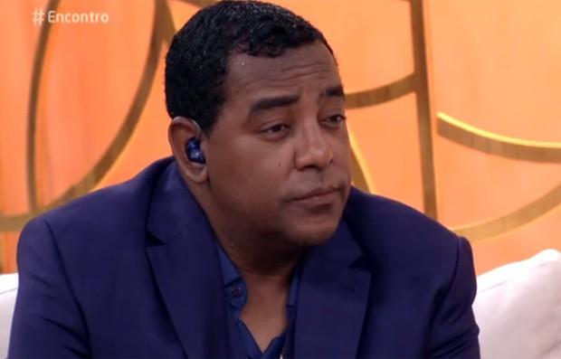 Luiz, vocalista do Raça Negra (Foto: Reprodução/TV Globo)