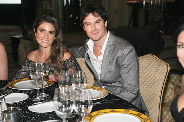 Ian Somerhalder e Nikki Reed (Foto: Getty Images)