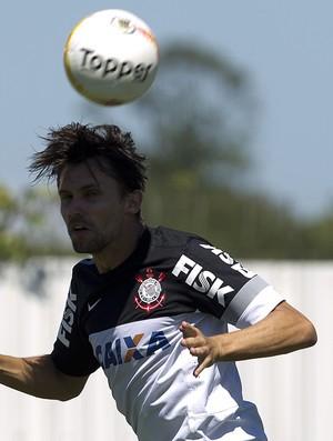 Paulo André treino Corinthians (Foto: Daniel Augusto Jr. / Ag. Corinthians)