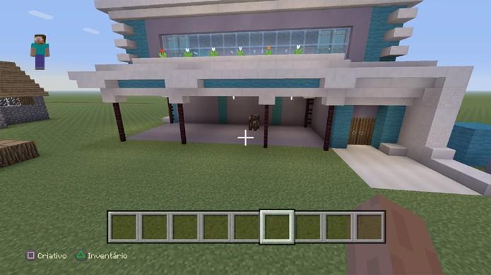 Como fazer casas bonitas e de luxo em minecraft dicas e for Casa moderna gta sa